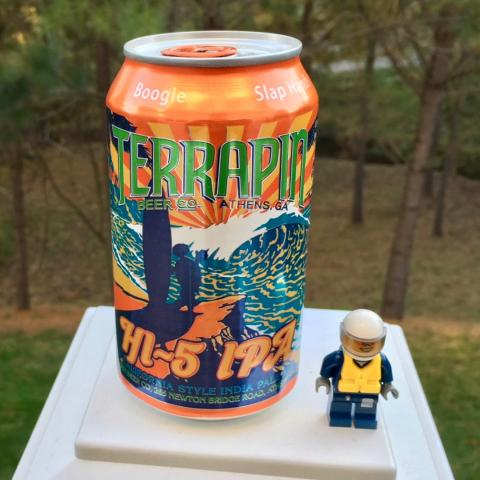 Terrapin Beer Hi-5 IPA California Style India Pale Ale