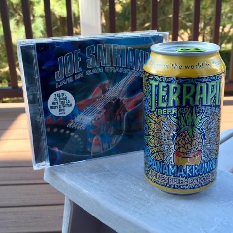 Terrapin Beer Panama Krunkles Pineapple-Papaya IPA