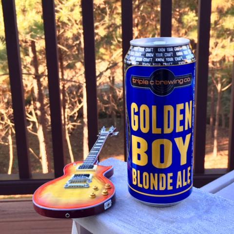 Triple C Brewing Golden Boy Blonde Ale
