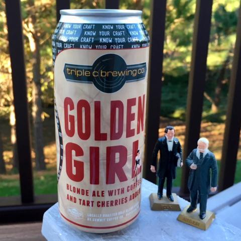 Triple C Brewing Golden Girl Blonde Ale