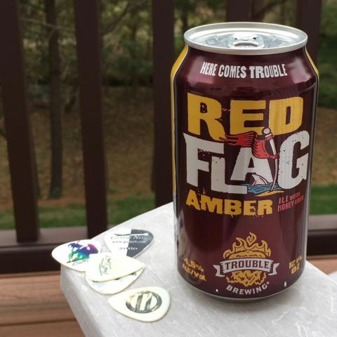 Trouble Red Flag Amber Ale