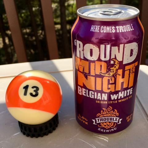 Trouble Round Midnight Belgian White Wheat Ale