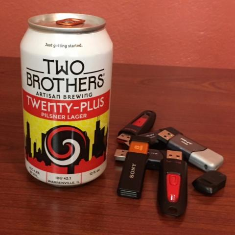 Two Brothers Twenty-Plus Pilsner Lager