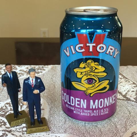 Victory Brewing Golden Monkey Belgian-Style Tripel Alt A