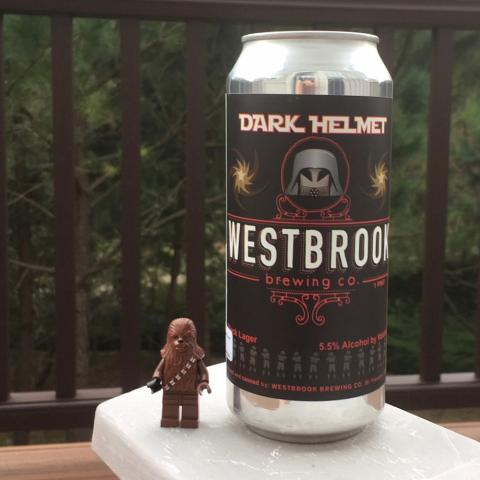 Westbrook Brewing Dark Helmet Black Lager