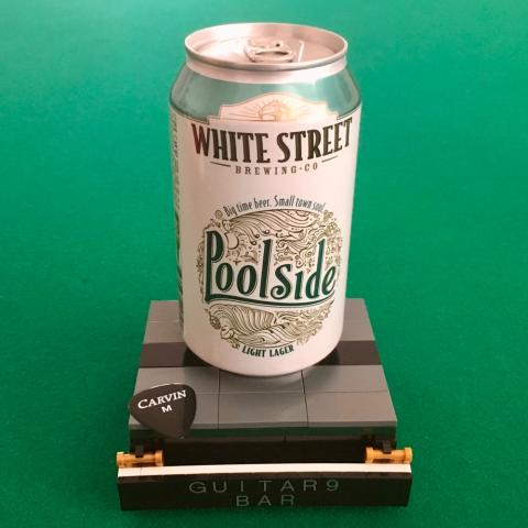 White Street Brewing Poolside Light Lager