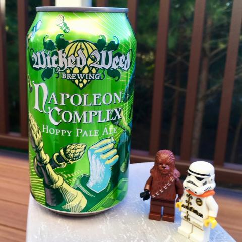 Wicked Weed Brewing Napoleon Complex Hoppy Pale Ale