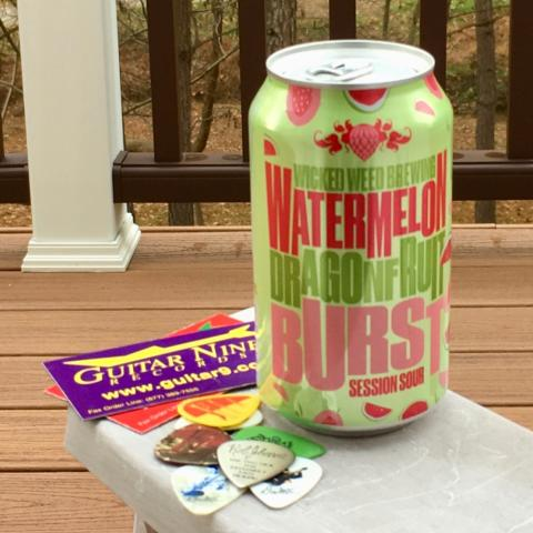 Wicked Weed Brewing Watermelon Dragon Fruit Burst Session Sour