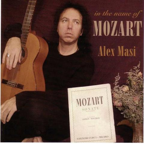 "Alex Masi ""In The Name Of Mozart"""