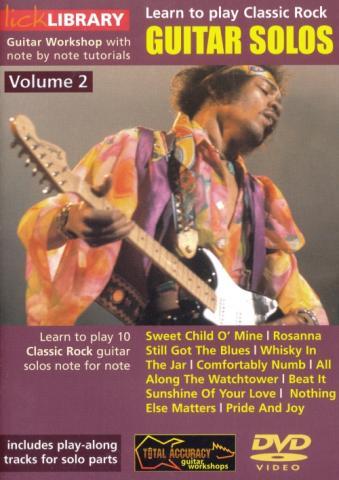 "Stuart Bull ""Classic Rock Solos Volume 2"""