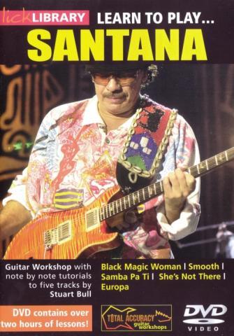 "Stuart Bull ""Learn To Play Santana"""