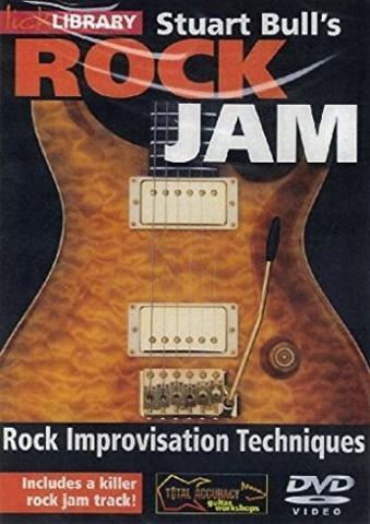 "Stuart Bull ""Rock Jam: Rock Improvisation Techniques"""