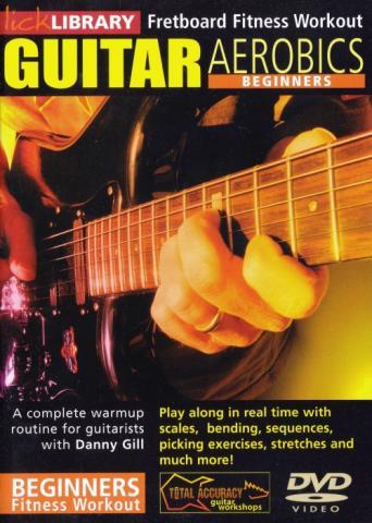 "Danny Gill ""Guitar Aerobics: Beginners"""