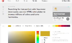 HTMLColorCodes Color Picker