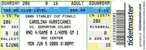 Carolina Hurricanes vs. Edmonton Oilers