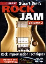 "Stuart Bull ""Rock Jam Volume 2: Rock Improvisation Techniques"""