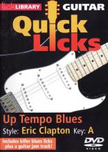 "Clone MIchael Casswell ""Quick Licks: Eric Clapton: Up Tempo Blues"""