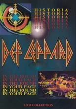 "Def Leppard ""Historia/In The Round In Your Face"""