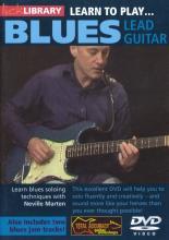"""Neville Marten """"Learn To Play Blues Lead Guitar"""""""