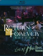 "Return To Forever ""Returns: Live At Montreux 2008"""