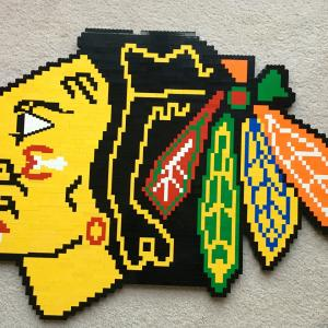 Lego Chicago Blackhawks Logo