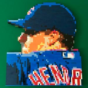 LEGO Cubs Pitcher Kyle Hendricks