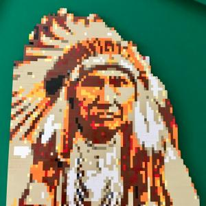 LEGO Native American Chief