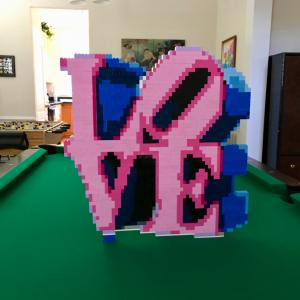 LEGO Love (Robert Indiana)