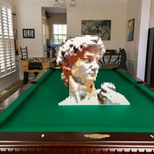 LEGO Michelangelo's David