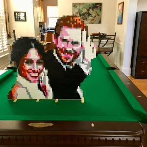 LEGO Duke and Duchess of Sussex