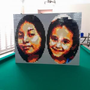 LEGO Jasmin and Anaiyah