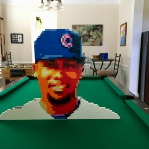 LEGO Cubs Pitcher Pedro Strop