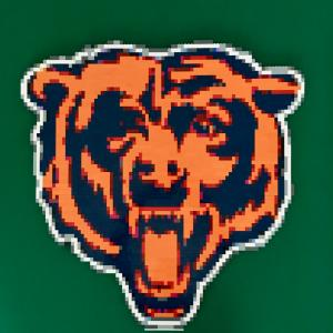 LEGO Chicago Bears Logo