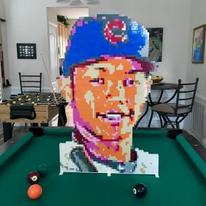 Lego Addison Russell Cubs